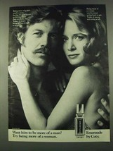 1974 Coty Emeraude Perfume Ad - Want Him More of a Man? - $14.99