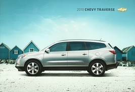 2010 Chevrolet TRAVERSE sales brochure catalog US 10 Chevy LS LT LTZ - $6.00
