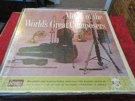Music Of The Worlds Great Composers Record Albums Set Of 12 - $13.49