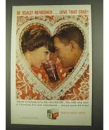 1959 Coca-Cola Soda Ad - Valentine - $14.99