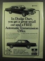 1974 Dodge Dart Swinger and Custom Car Ad - $14.99