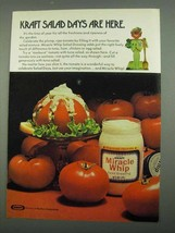 1974 Kraft Miracle Whip Ad - Salad Days are Here - $14.99