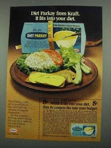 1974 Kraft Diet Parkay Imitation Margarine Ad - $14.99