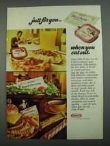 1974 Kraft Ad - Blue Cheese Dressing, Grape Jelly - $14.99