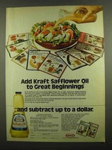 1974 Kraft Safflower Oil Ad - Great Beginnings - $14.99