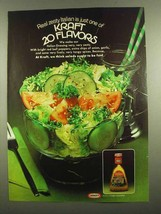 1974 Kraft Italian Dressing Ad - Real Zesty Italian - $14.99
