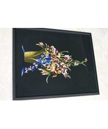 Hmong Orchid Bouquet Silk Embroidery Original M... - $775.99