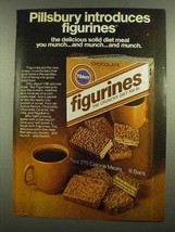 1974 Pillsbury Figurines Ad - Diet Meal You Munch - $14.99