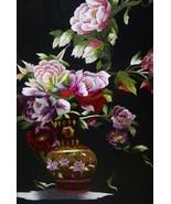 Hmong Floral Bouquet Silk Embroidery Original M... - $872.99