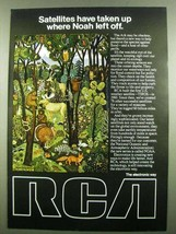 1974 RCA Electronics Ad - Where Noah Left Off - $14.99