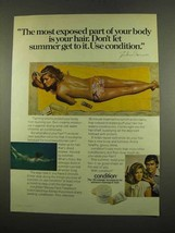 1975 Clairol Condition Beauty Pack Treatment Ad - Exposed - $14.99