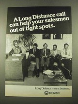 1975 Bell Long Distance Ad - Out of Tight Spots - $14.99