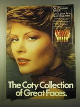 1975 Coty Originals Lipstick Ad - Great Faces - $14.99