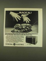 1976 General Electric Microwave Oven Ad - Magical - $14.99