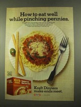 1975 Kraft Spaghetti with Meat Sauce dinner Ad - $14.99