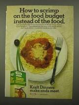 1975 Kraft Tangy Italian Style Spaghetti Ad - Budget - $14.99
