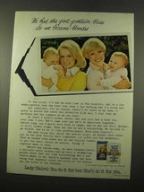 1975 Lady Clairol Hair Color Ad - Post-Partum Blues - $14.99