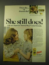 1975 Miss Clairol Hair Color Ad - Still Does - $14.99