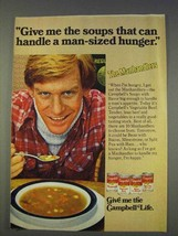1977 Campbell's Manhandlers Soup Ad - Hunger - $14.99