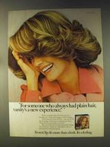 1976 Clairol Frost & Tip Haircolor Ad - Plain Hair - $14.99