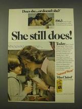 1976 Miss Clairol Haircolor Ad - She Still Does - $14.99