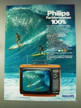 1977 Philips Philetta Royal 625 Television Ad - German - $14.99