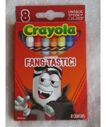 Fang-Tastic Vampire Halloween Crayola Crayons Red Box  - $6.99