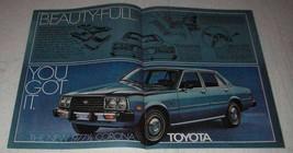 1977 1/2 Toyota Corona Ad - Beauty-Full - $14.99