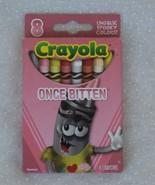 Once Bitten Halloween Crayola 8 Crayons in Box Halloween Zombie  - $6.99