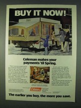1978 Coleman Fold-Down Camper Ad - Buy It Now! - $14.99