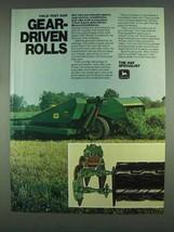 1978 John Deere 1207 Mower/Conditioner Ad - Gear-Driven - $14.99