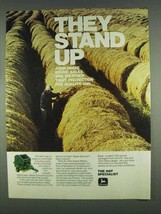 1978 John Deere Round Baler Ad - They Stand Up - $14.99