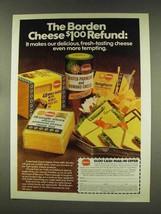1977 Borden Cheese Ad - $14.99