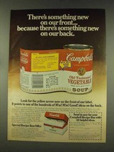 1977 Campbell's Old Fashioned Vegetable Soup Ad - $14.99
