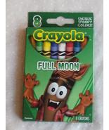 Full Moon Halloween Crayola 8 Crayons in Box Werewolf - $6.99