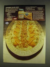 1977 Kraft Miracle Whip and Blue Diamond Almonds Ad - $14.99
