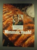 1977 Kraft Barbecue Sauce Ad - Mmmm, Yeah! - $14.99