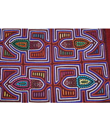 Old Kuna Art Mola Hand stitched Applique Detail... - $67.89