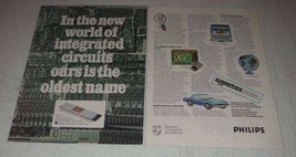 1977 Philips Electronic components and materials Ad - $14.99