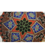 Old Sumatra Ceremonial Hand Beaded Coolie Conic... - $339.49