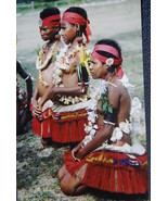 Pacific Art Rare Hand Carved Melanesia Mother P... - $266.75