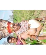 Rare Bilas Baler Shell Groin Cover Tribal Warrior Chief Gam Mendi Curren... - $290.99