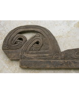 Rare Maritime Old Handcarved Tabuya wave splitt... - $383.15