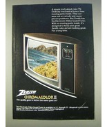 1977 Zenith The Ellipse IV SJ1951W Television Ad - $14.99