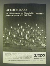 1977 Zippo Cigarette Lighters Ad - After 45 Years - $14.99