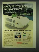 1978 Coleman Deluxe A Model Air Conditioner Ad - $14.99
