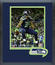 Thomas Rawls 2016 NFC Wild Card Game -11x14 Matted/Framed Photo  - $43.55