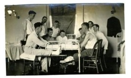 World War One Photograph Soldiers Convalescent Hospital - $17.80
