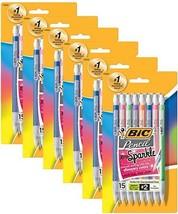 Bic Xtra-Sparkle Medium Mechanical Pencil 0.07 mm Assorted Colors 15 ea ... - $26.13