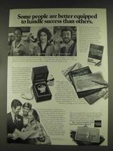 1978 American Express Ad - Pele, Luciano Pavarotti - $14.99